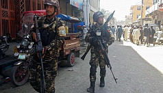 IS suicide bombers storm Afghan state...