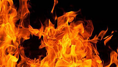 Fire at Jatra building in Banani