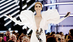 Celine Dion rocks out to Cher