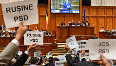 Romania government falls after six months...