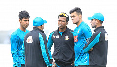 Mashrafe: We're looking to go in with...