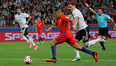 Sanchez breaks Chile scoring record...