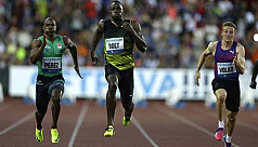 Bolt holds on to win 100m at final Golden...