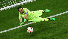 Shootout hero Bravo sends Chile into...