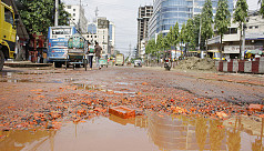 Flooded Chittagong city roads add to...