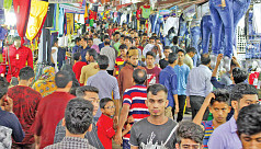 Chittagong abuzz with Eid shoppers