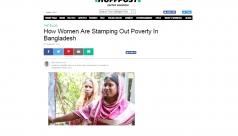Bangladeshi women stamp out poverty,...