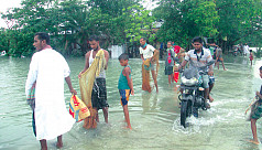 Thousands stranded in Bhola, Bandarban...