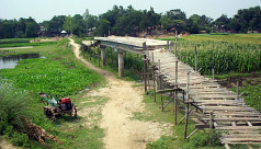A bridge for no one in Naogaon