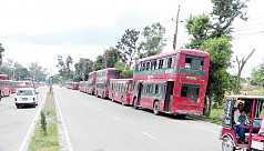 Accident risk soars as rundown buses...