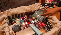 'Luggage party' goods take over cosmetics...