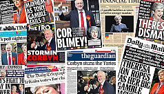 In pictures: Election 2017 UK front...