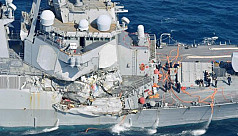 7 crew missing as US Navy destroyer collides with container ship off Japan