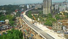 Chittagong's Akhtaruzzaman flyover opens...