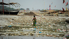 Study: Plastic in major rivers main source of ocean pollution