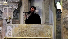 Kurdish official claims IS leader Baghdadi...