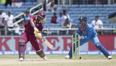 Lewis ton carries Windies to thumping...