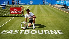 Djokovic claims Eastbourne title