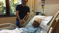 BFF VP Badal recovering after brain...
