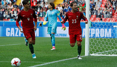 Portugal beat Mexico to Confederations...