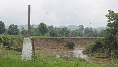 Indo-Bangla border changes due to continuous river erosion