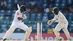 Zimbabwe seven wickets away from maiden...