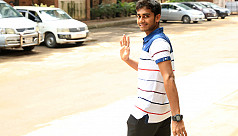 Excited Miraz flies off to the...
