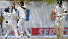 Pradeep picks maiden five-wicket haul...