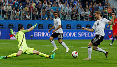Germany survive Chile onslaught to win...