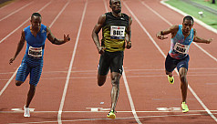 Bolt breaks 10s for first time this...