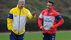 Arsenal striker Sanchez going nowhere,...