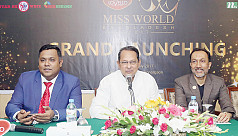 Miss World launched in Bangladesh