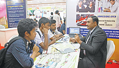 Study in India fair kicks off in...