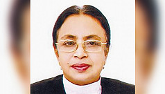 Country's first female justice Nazmun...