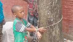Five-year-old tied to a tree for stealing...