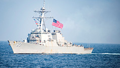 China accuses US warship of provocation...