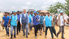 UNHCR chief visits Rohingya camps