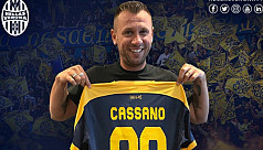 Cassano in dramatic Verona retirement...