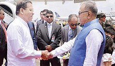 Sri Lankan president in town, to meet...