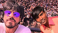 Hero Alom's morphed selfie with SRK...