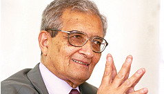 Amartya Sen can't say Cow, Gujrat, Hindu...