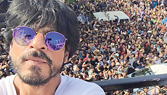 Uncountable selfies with Shah Rukh...