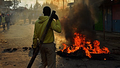 Two shot dead as protests erupt over...