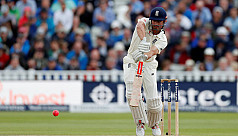 Rain holds up England after Cook makes...