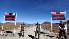 India, China troops hold flag meeting...
