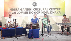 An evening of Rabindra Sangeet with Laisa Ahmed Lisa