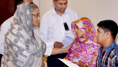 PM provides financial aid to families...
