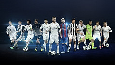 Real Madrid dominate nominations for...