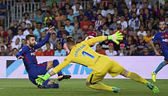Busquets defends Pique after own goal...