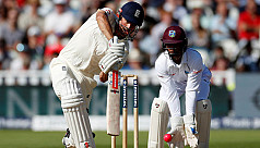 Ton-up Cook and Root give Windies hard...